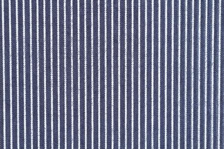 Dark blue denim with white stripes fabric background