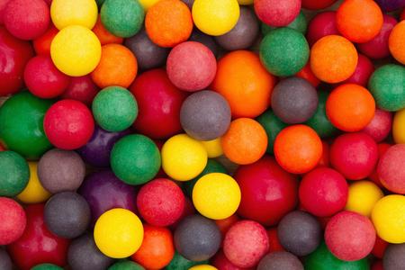 multicolored gumballs: Colorful multi colored bubble gum background