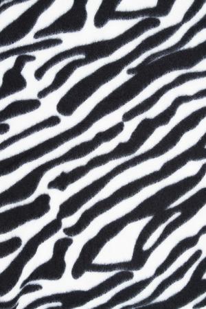 Sfondo bianco e nero tessuto di pelliccia di tigre Archivio Fotografico - 75527506