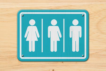 すべての包括的なトランスジェンダー記号、ティール、ホワイト木の女、トランスジェンダーと男のシンボルと記号