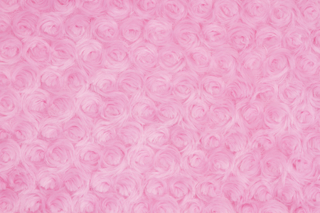 Bright pink rose plush fabric background with muted mix of shades to provide copy-space for your message Imagens