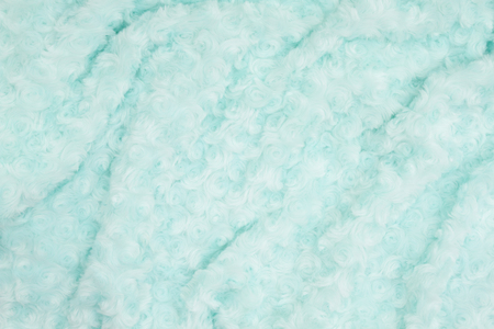 Pale teal rose plush fabric  with muted mix of shades to provide copy-space for your message