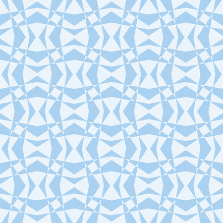 Baby Blue Geometric Design Background that is seamless and repeats Stock Photo