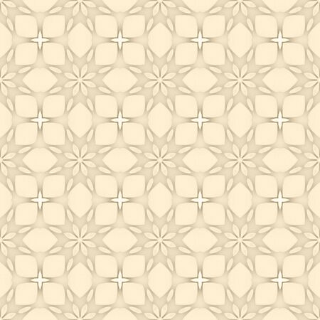 Pale yellow flower mosaic detailed seamless and repeat textured pattern background