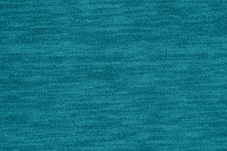 Teal and black fleece textured plush fabric material
