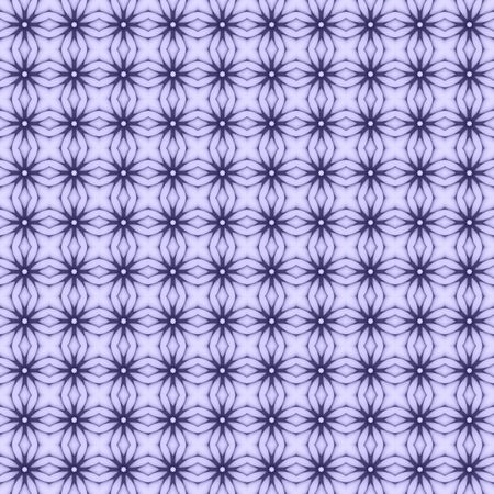 Purple flower mosaic detailed seamless and repeat textured pattern background