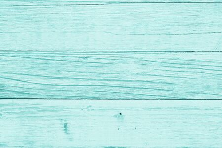 Weathered whitewash teal tone wood textured material background with copy space for your message Banque d'images - 142152843