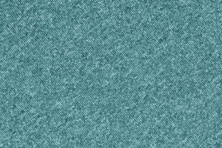 Teal knit textured weave material background with copy space for message or use as a texture Stock Photo