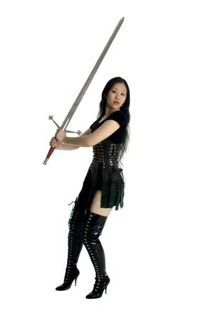 warrior sword: Preparing for battle