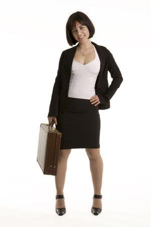 Pretty business woman photo