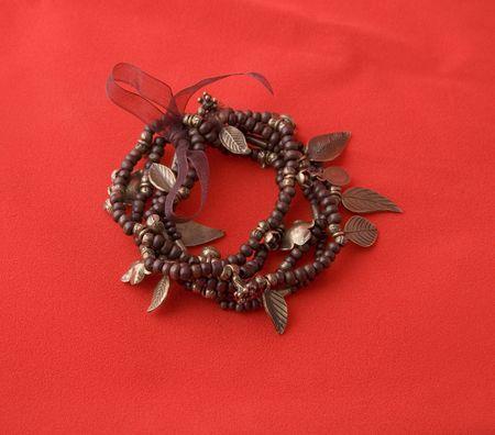 Bracelet of beads photo