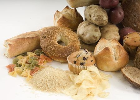 carb: Starchy foods
