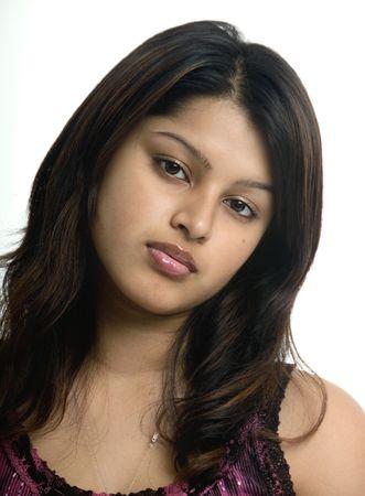 Beautiful woman from Bangladesh Stock Photo