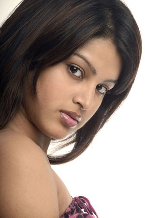 indian youth: Beautiful young woman