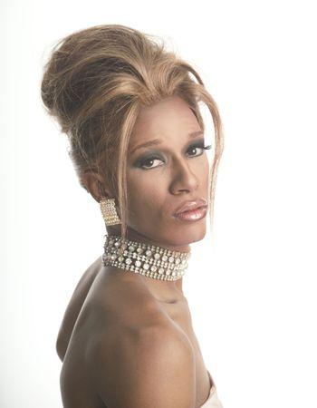 drag race: artista de la fricci�n en diamantes Foto de archivo