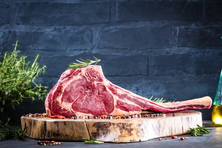 Barbecue Tomahawk Steak