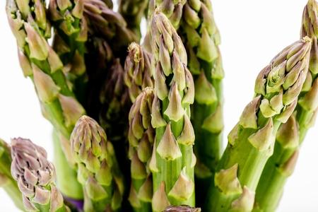 Asparagus Raw asparagus Fresh Asparagus Green Asparagus on white backkground