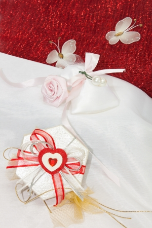 Exciting gifts for St  Valentine Day celebration photo