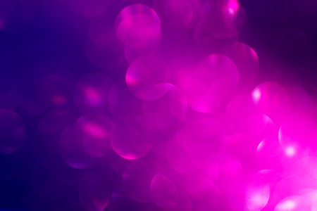 Abstract Festive Background with Violet Blurred Circles. Stock Photo