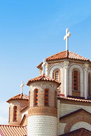 john the baptist: Small Orthodox Church. New Church St. John the Baptist, Skopje, Macedonia.