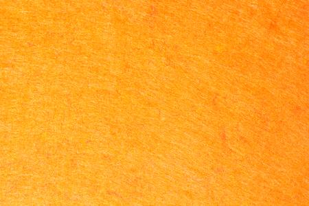 Orange Abstract Synthetics Stoff Textur für den Hintergrund. Standard-Bild