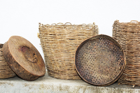 The old traditional Macedonian �°ntique household utensils.