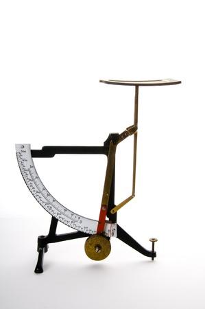 gewicht skala: Alten-Waage Lizenzfreie Bilder