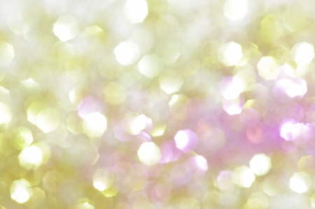 defocused: Glowing background in gold, yellow and pink