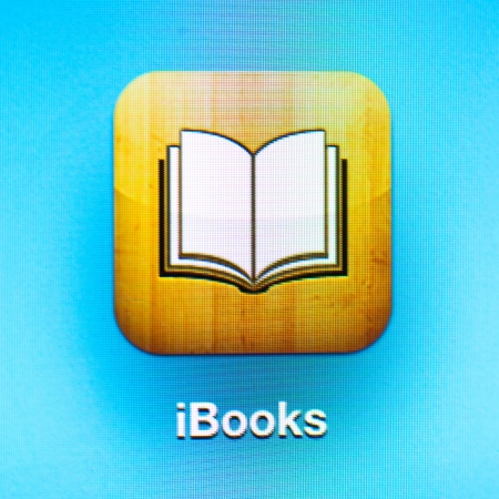 iBooks icon app on the iPad 3.iBooks is a e-book application by Apple Inc. Stock Photo - 16532271