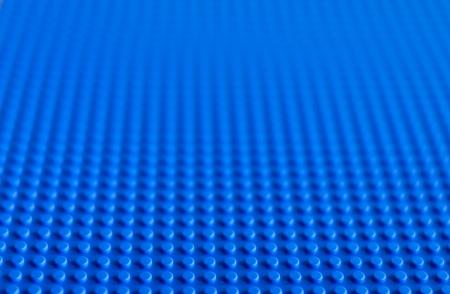 Lego blauwe grondplaat. De Lego speelgoed werd oorspronkelijk ontworpen in de jaren 1940 in Denemarken en een internationale uitstraling hebben bereikt.