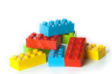 Lego bouwstenen en blokken