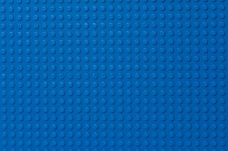 Lego blauwe grondplaat Redactioneel