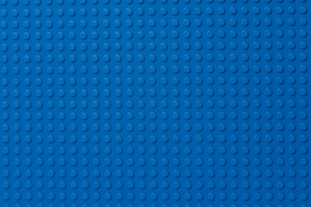 Lego blue baseplate Stock Photo - 16532265