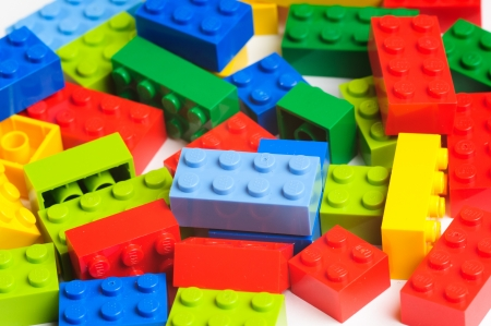 Lego blocks. The Lego toys were originally designed in the 1940s in Denmark and have achieved an international appeal.