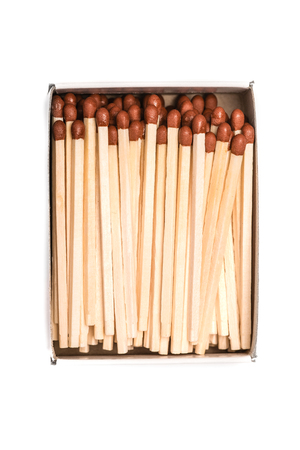 consumable: Box of matches with white background