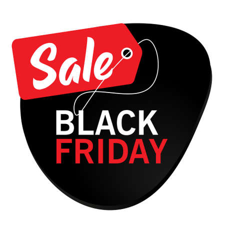 Big Sale. Black Friday banner. Vector illustration for banner or poster, discount coupons