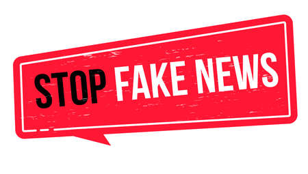 Stop fake news. Sign for notifications in online stores, false information