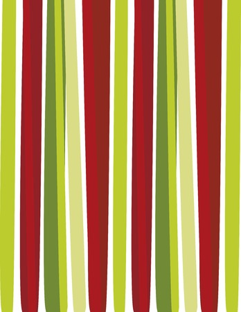 green and red: Christmas stripes background vector illustration Illustration