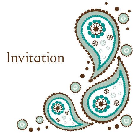 dise�os: Ilustraci�n de tarjeta de invitaci�n de boda