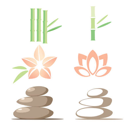 Spa icons Stock Vector - 7303001