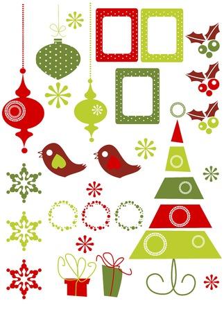 Christmas Design Elements  illustration Vector