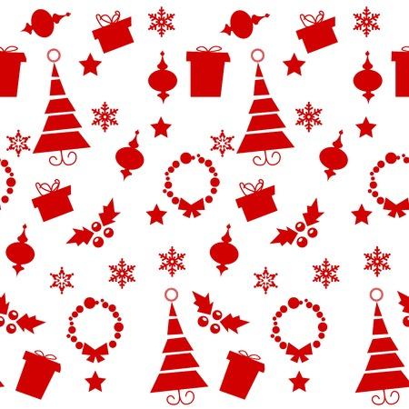 Christmas seamless pattern , vector illustration Vector