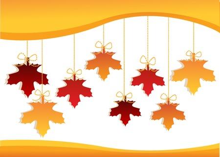 Autumnal discount Vector