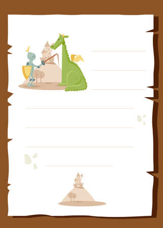 Fairy tale background Vector