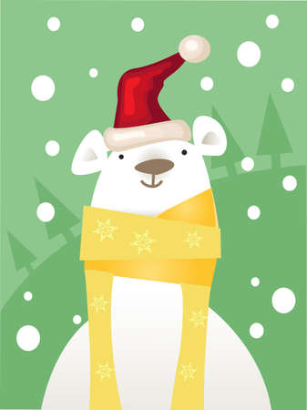 teddy bear christmas: Christmas ice Bear