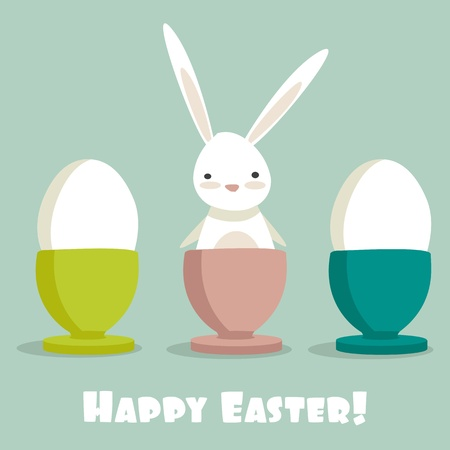 Easter Bunny, vector illustration Vector