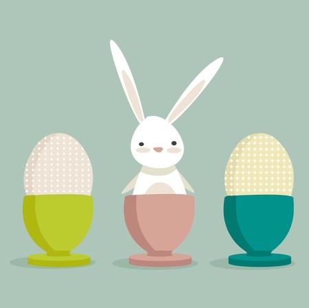 Easter Bunny,   illustration Vector