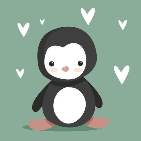 cute Penguin  Stock Vector - 8833988