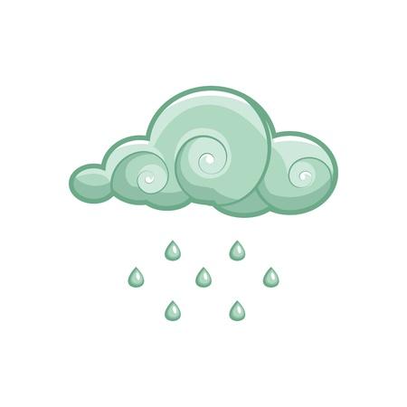 rain vector Stock Vector - 9297530