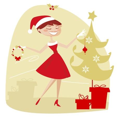 decorando: Retro Navidad